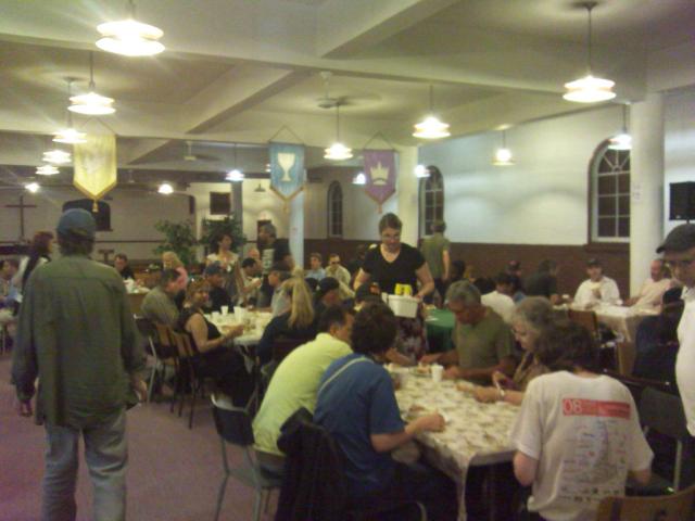 BLCF Cafe Serving the homeless & marginalized