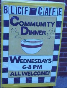 Fundraiser  Concert  to Benefit the Homeless at the BLCF Cafe Community Dinner November 1, 2014 (2/2)