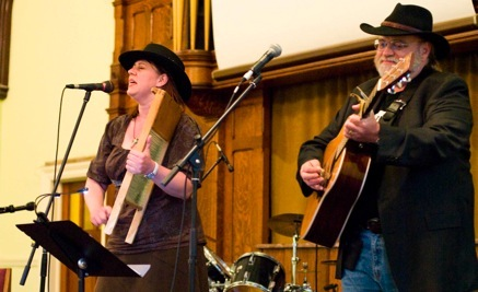 Bluegrass / Folk Duo at BLCF Cafe Community Dinner  Benefit