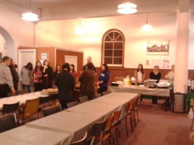 Bloor Lansdowne Community Dinner Volunteers