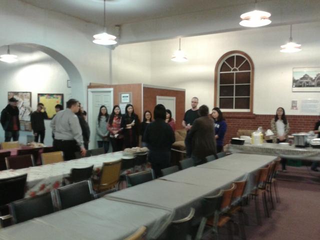 BLCF Cafe Community Dinner Volunteers