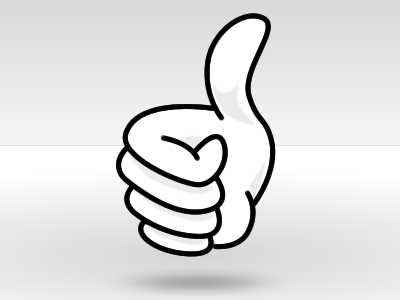 BLCF: big-thumbs-up