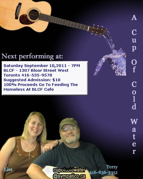 Bluegrass Gospel Music Benefit To Feed Toronto's Homeless And Marginalized At BLCF Cafe (2/2)