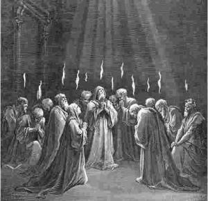 Pentecost-by-Gustave-Dore