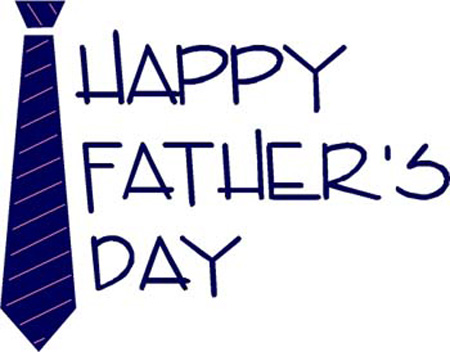 BLCF: Happy Father's Day Tie