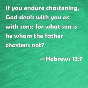 Hebrews12:7