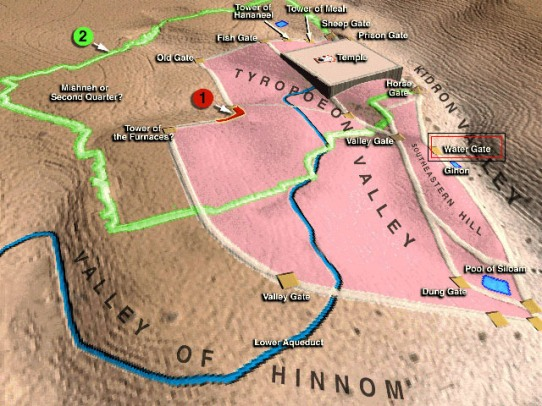 Jerusalem rebult by Nehemiah
