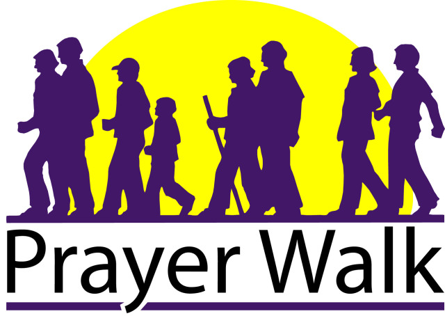 BLCF: prayer-walk