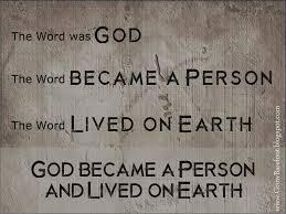 Word was God