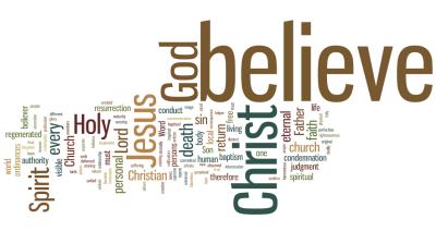 Faith in the Lord Wordle