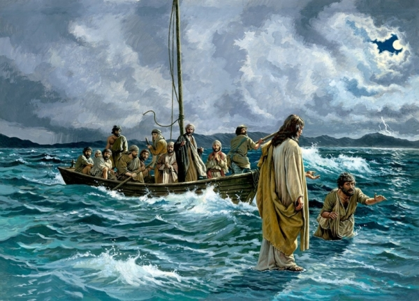 BLCF: Jesus walks on the water