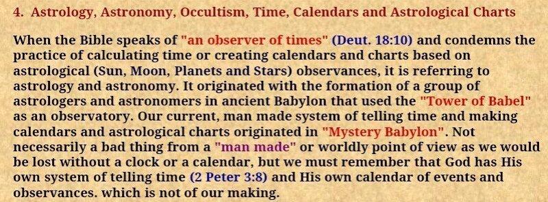 BLCF: Astronomy Bible
