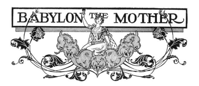 BLCF: Babylon The Mother
