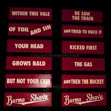 BLCF: Burma_Shave