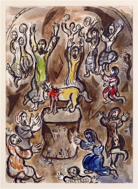 BLCF: chagall golden calf