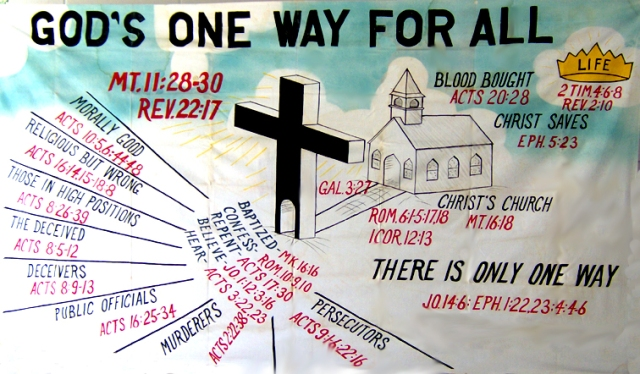 BLCF: God's One Way