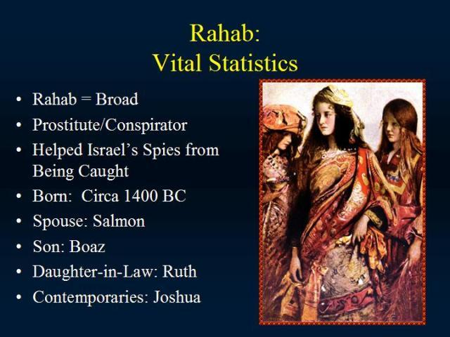 BLCF:Rahab