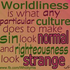 BLCF: worldliness