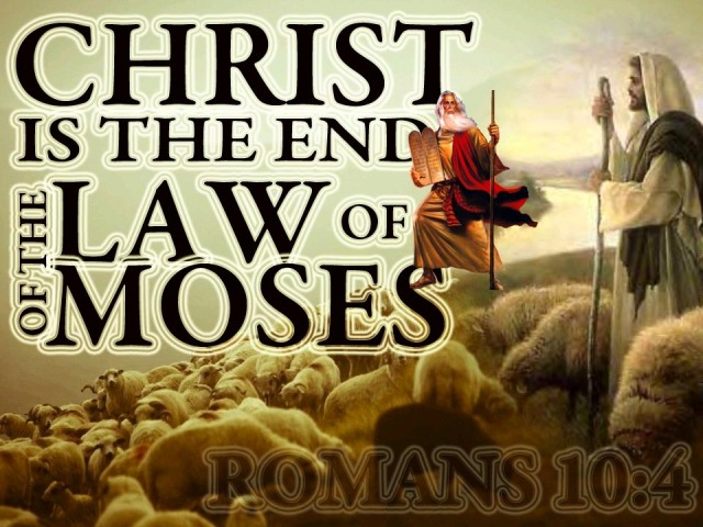 BLCF: hrist-is-the-end-of-the-law-of-moses