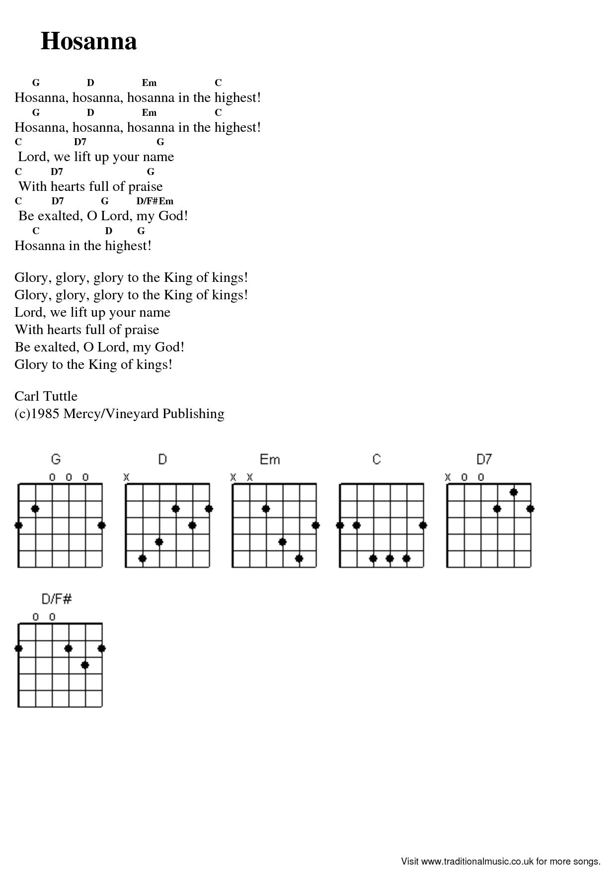 BLCF: Hosanna_guitar