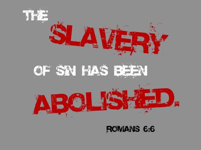 BLCF: the slavery of sin