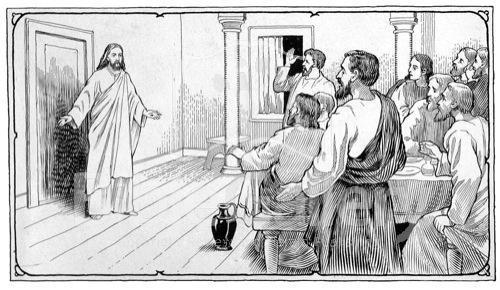 BLCF: JESUS IN THE UPPER ROOM_