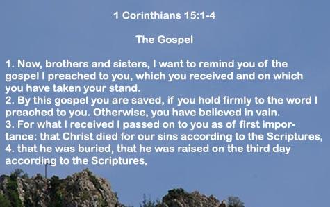 BLCF: 1Corinthians 15:1-4