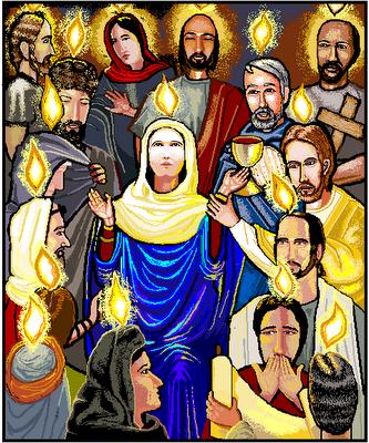 BLCF: Mary_at_Pentecostpentecost