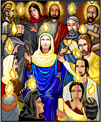 BLCF: Mary_at_Pentecostpentecost