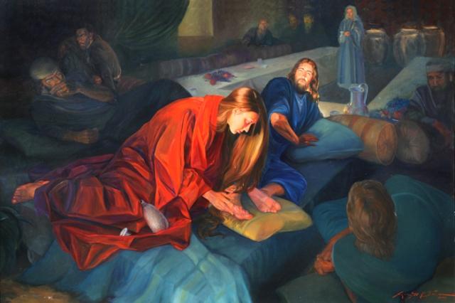 BLCF: Mary_Washing_Jesus_Feet