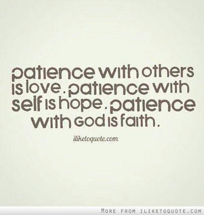 BLCF: patience
