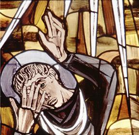 BLCF: WINDOW DEPICTS CONVERSION OF ST. PAUL