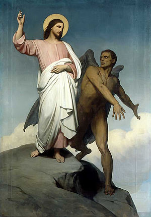 BLCF: Ary_Scheffer_-_The_Temptation_of_Christ_(1854)