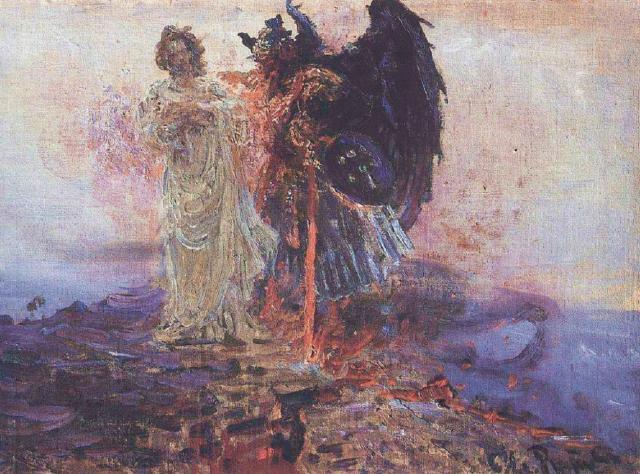 BLCF: ilya-repin-get-behind-me-satan-1895