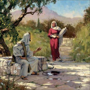 BLCF: Jesus&Samaritan_Woman_at_the_well