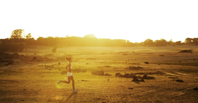 BLCF: Woman Running