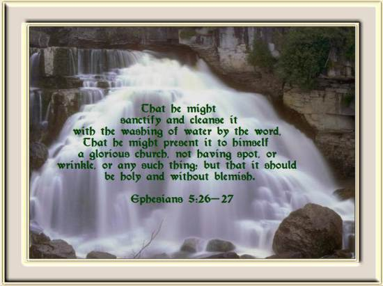 BLCF: Ephesians-5-26-27-that-he-might-sanctify-her-cleansing-her-by-the-washing-of-the-water-in-the-word