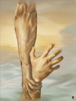 BLCF: Jesus'-hand