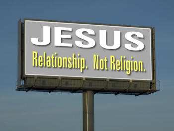 BLCF: Jesus relationship not religion