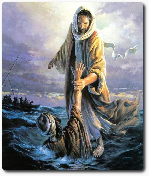 BLCF: Jesus-walking-on-water