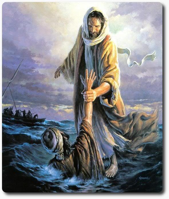 BLCF: Jesus-walking-on-water