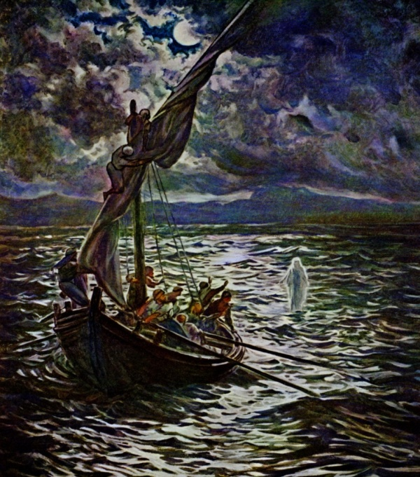 BLCF: Jesus walks on the sea