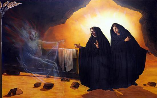 BLCF: resurrection-fresco-church