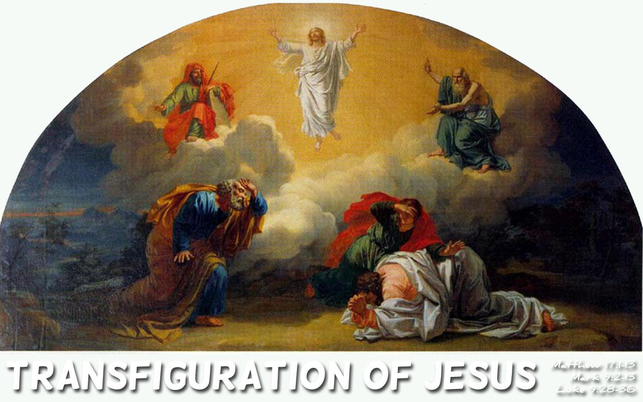 BLCF: Transfiguration-of-Jesus-