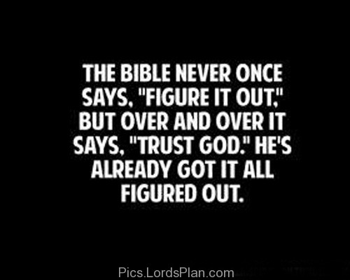 BLCF: Bible-says-quot-trust-God