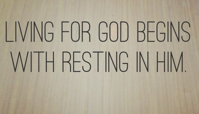 BLCF: rest-in-Him