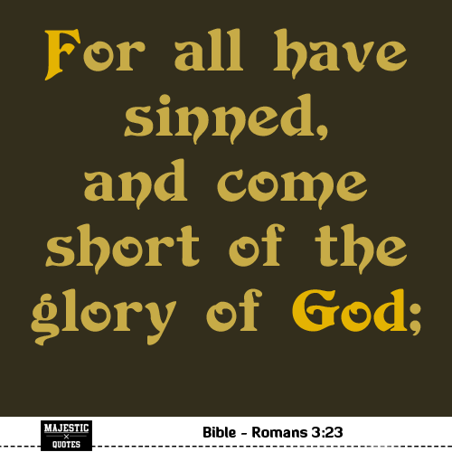 BLCF: Romans_3_23