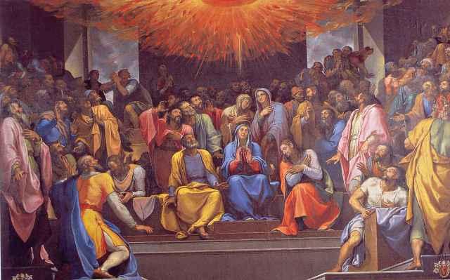 BLCF: Pentecost-Upper-Room