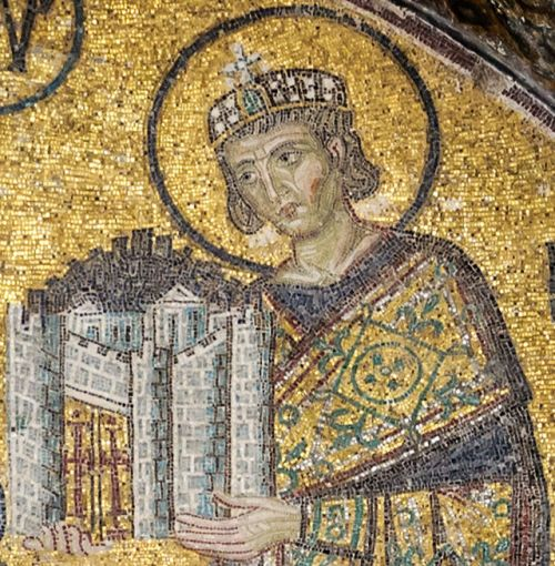 BLCF: Constantine_I_Hagia_Sophia