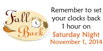 BLCF: Daylight-Savings-Time-Fall-Back